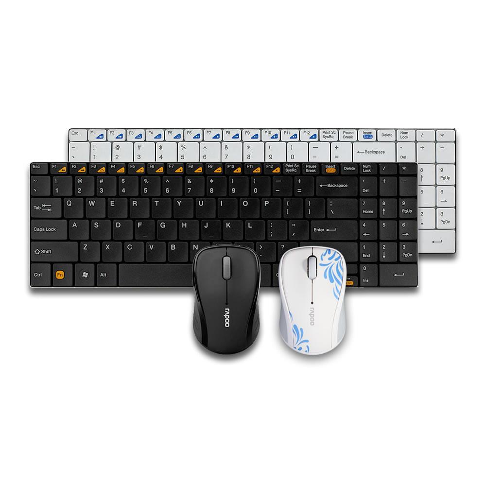 雷柏9060无线鼠标键盘套装