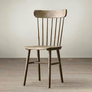 美式loft风 橡木餐椅