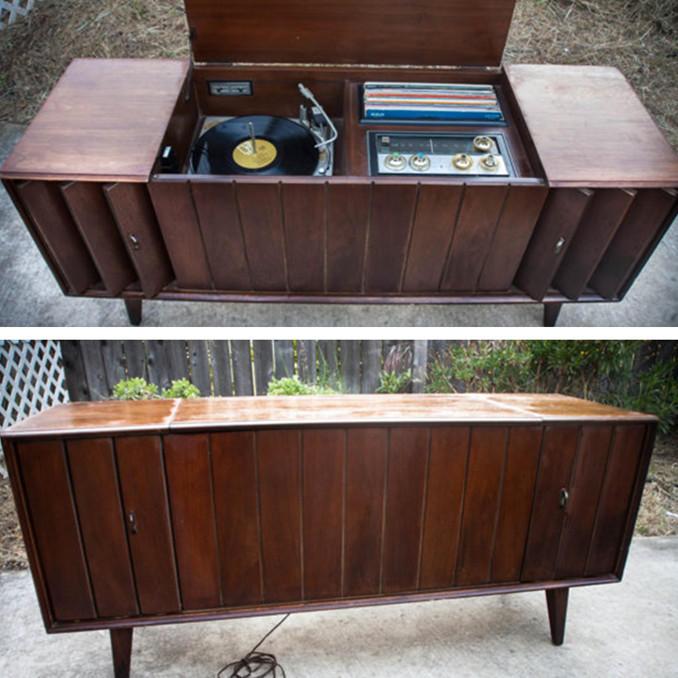 Reserved◇1967年惠特尼立体声音响主机书柜摆件